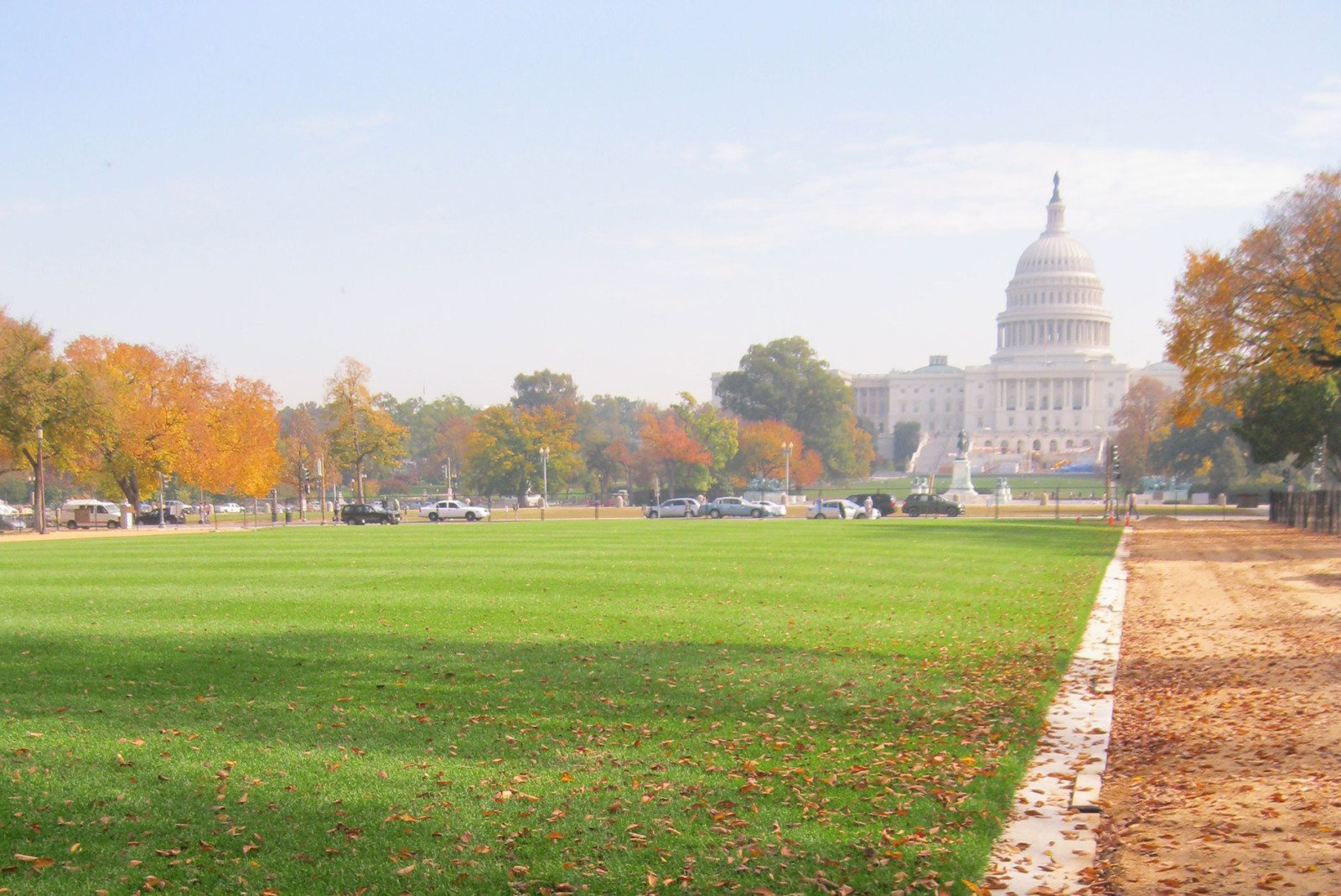 National Mall Turf And Soil Reconstruction