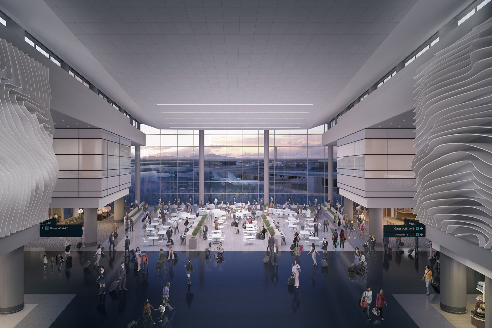 Salt Lake City International Airport Passenger Terminal - HOK