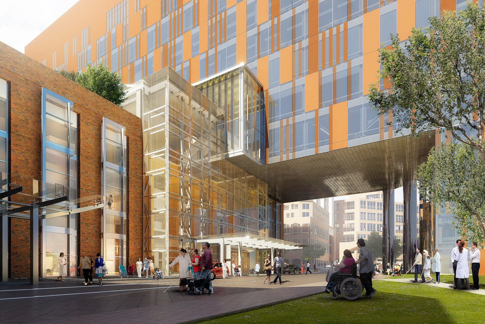 HOK Is Architect for New UPMC Mercy Vision and